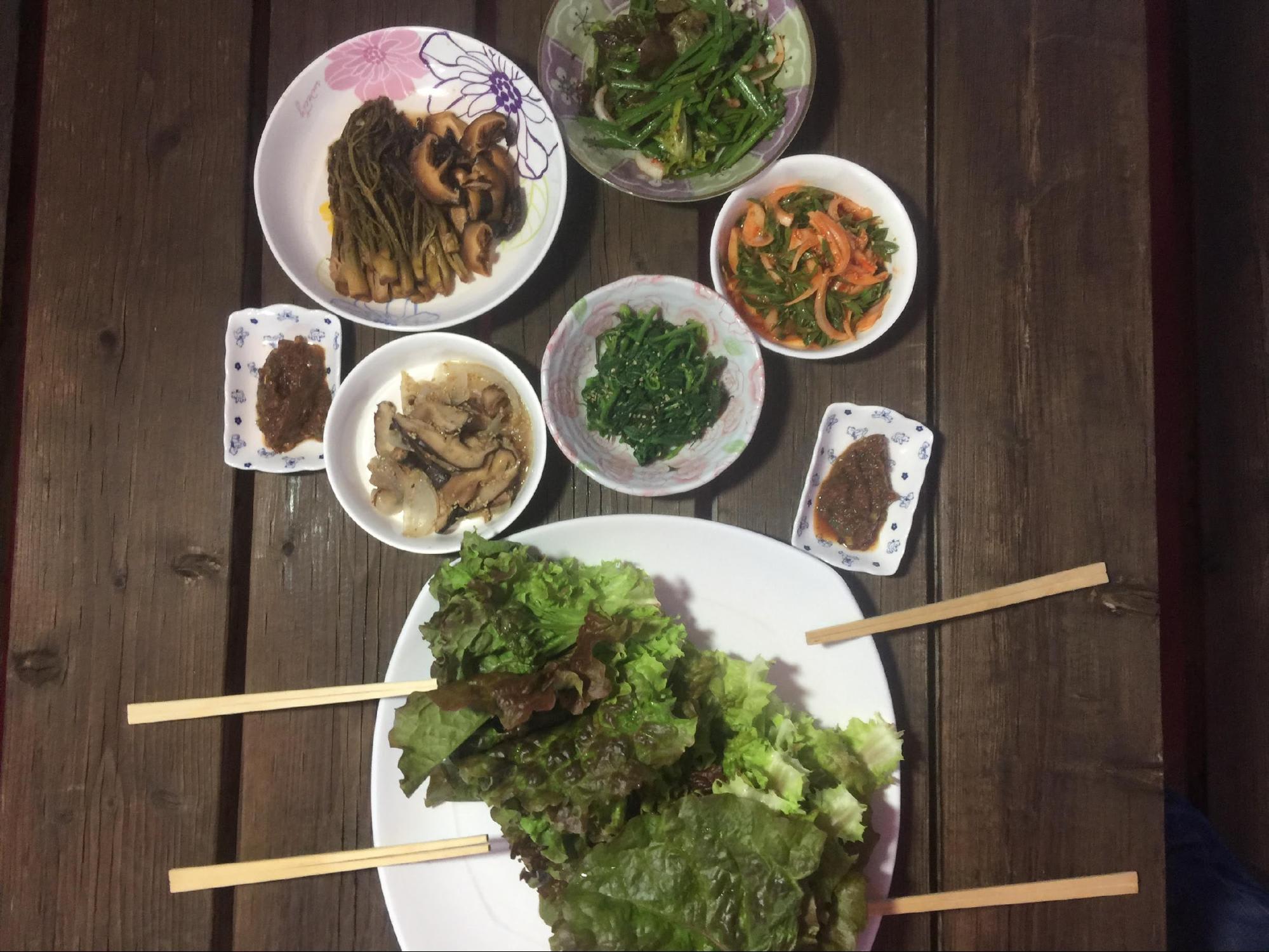 bữa cơm của người hàn quốc
