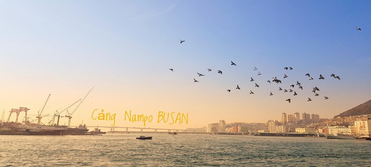 cảng nampo busan