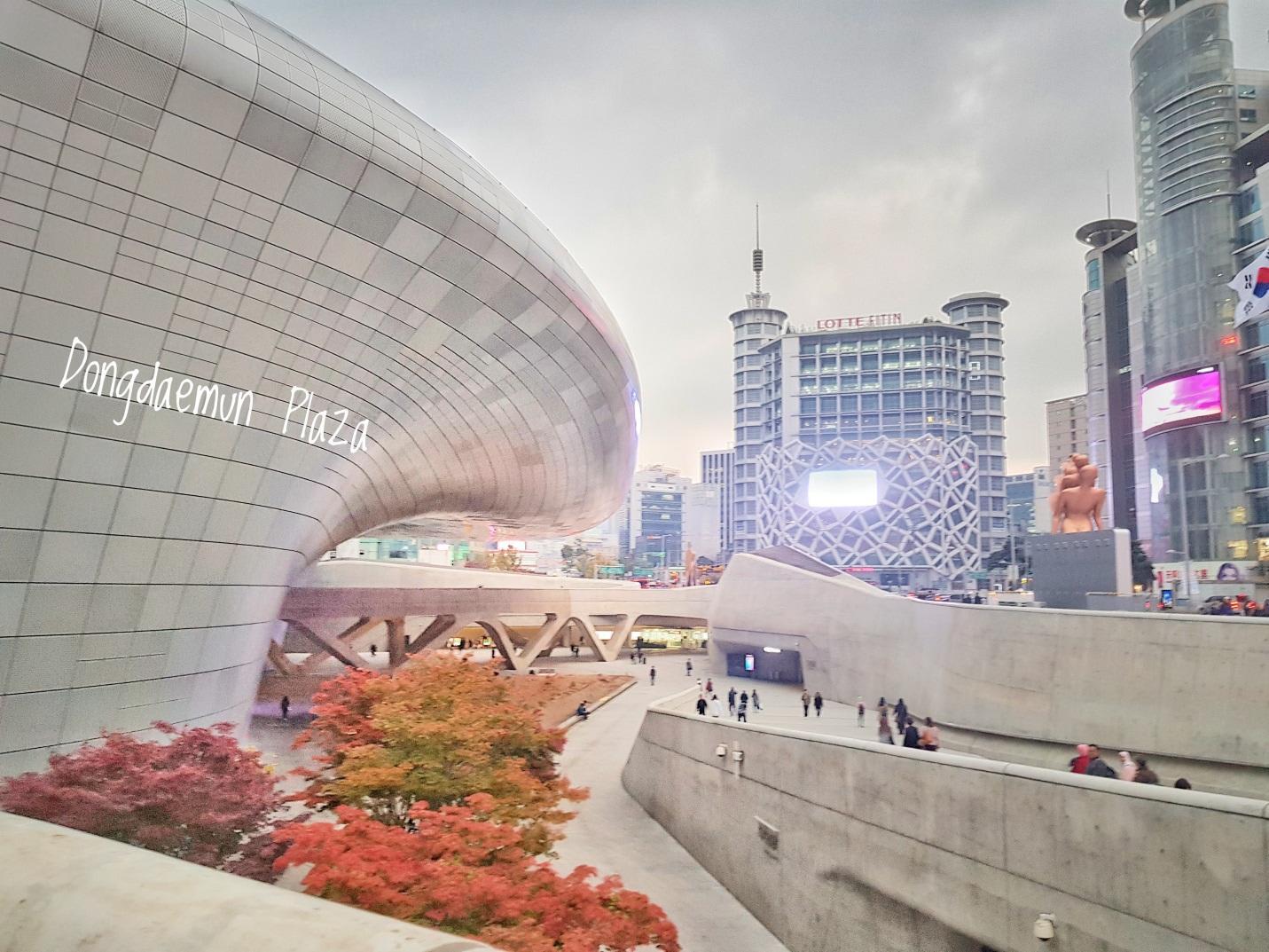 trung tâm mua sắm dongdaemun