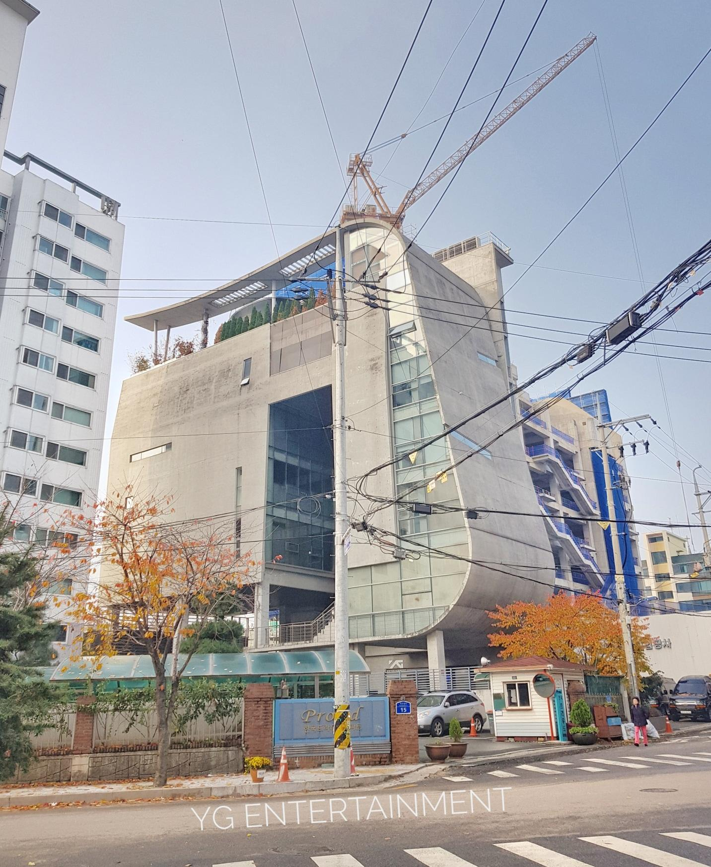 tòa nhà YG Entertainment