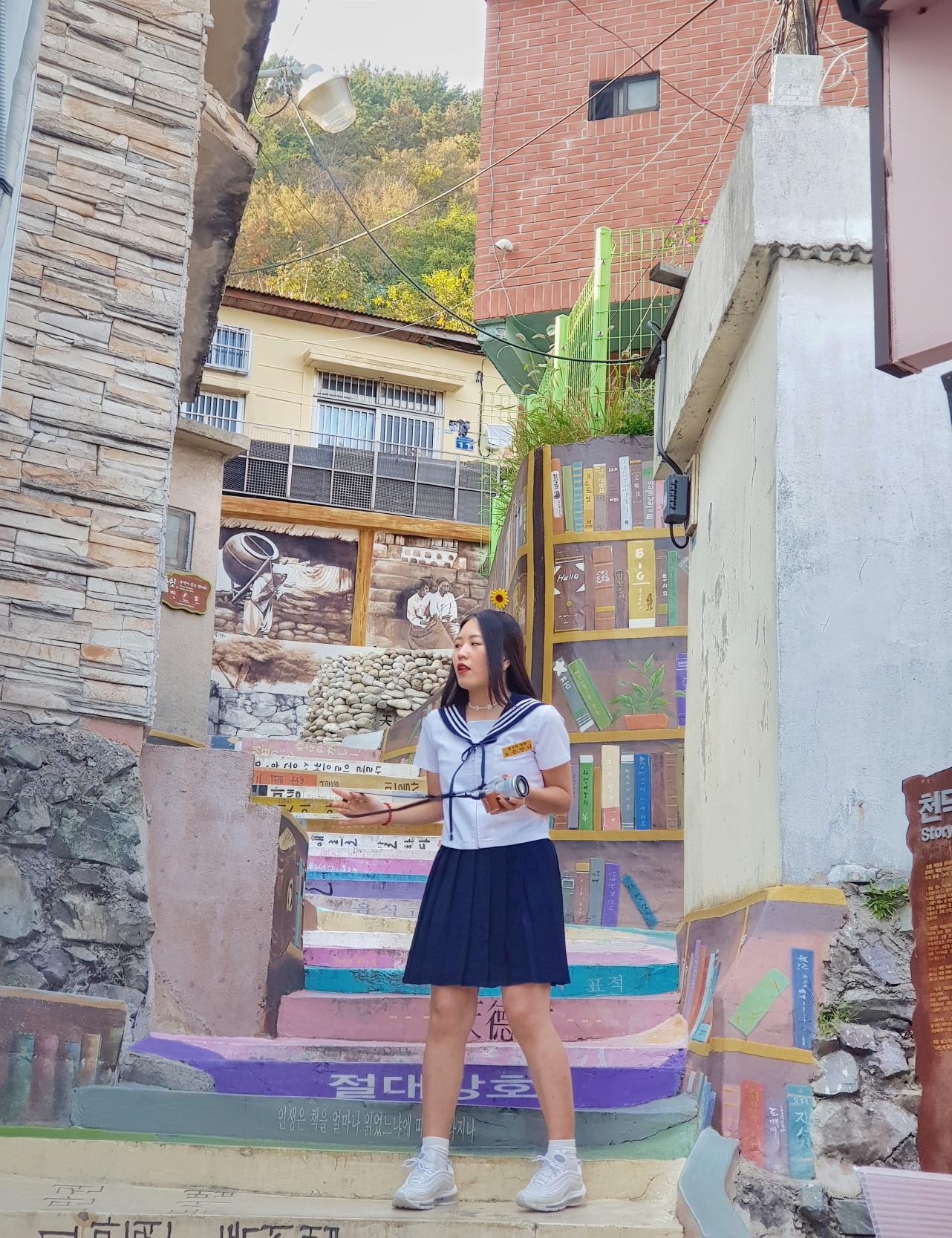 một góc làng gamcheon