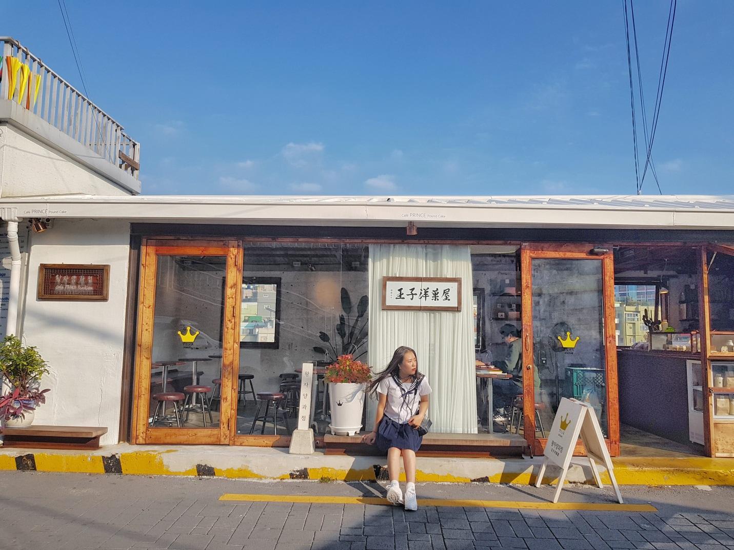 tiệm cafe ở gamcheon