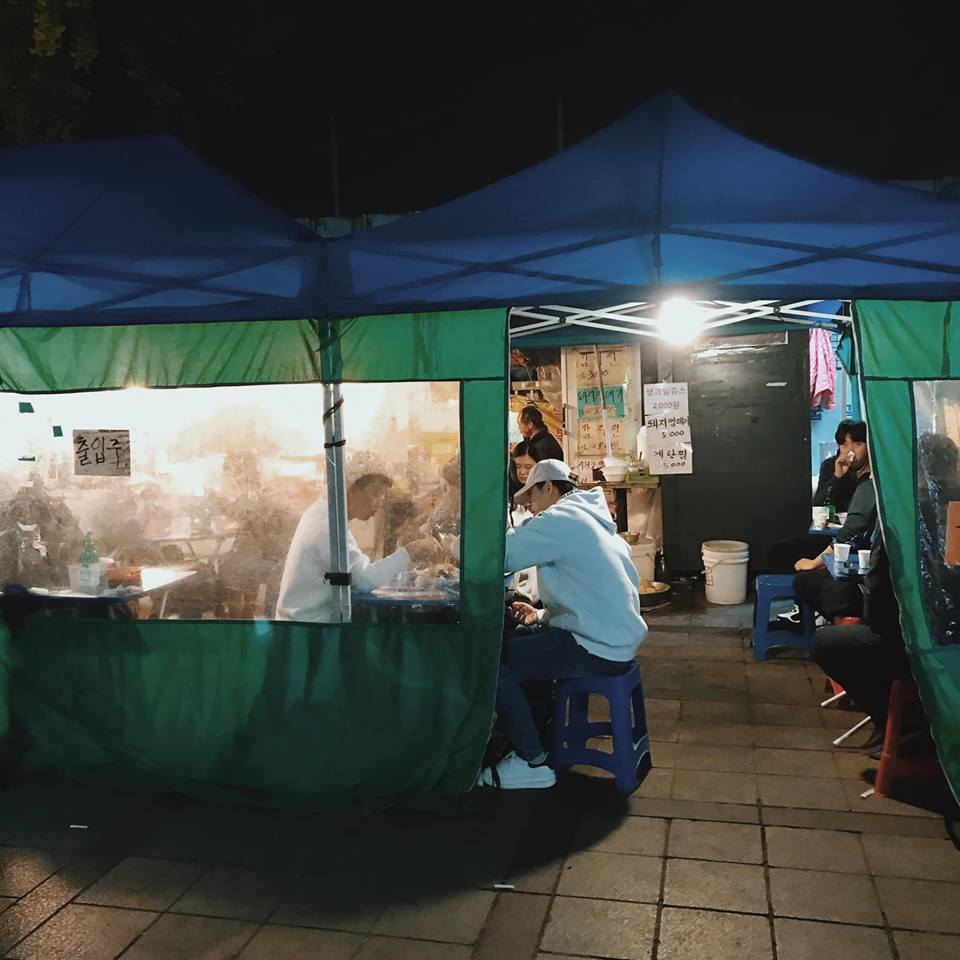 chợ đêm myeongdong