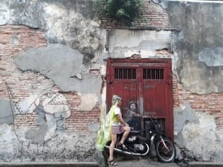 street art tại penang