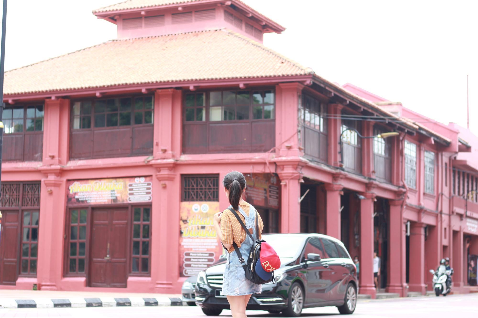 quảng trường đỏ malacca