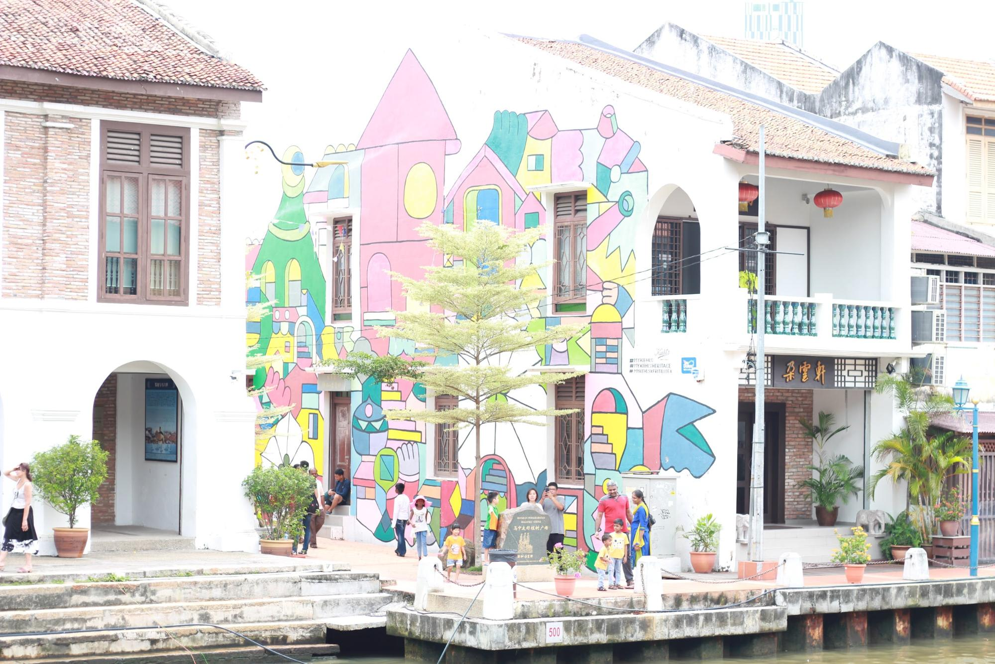 một góc phố cổ malacca