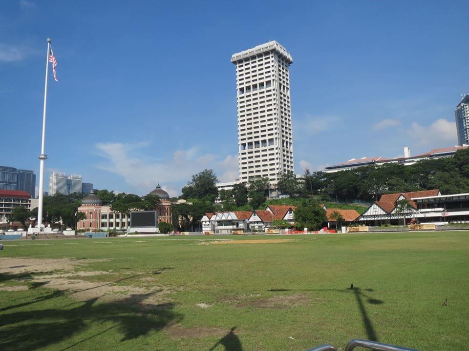 công viên trước quảng trường mederka