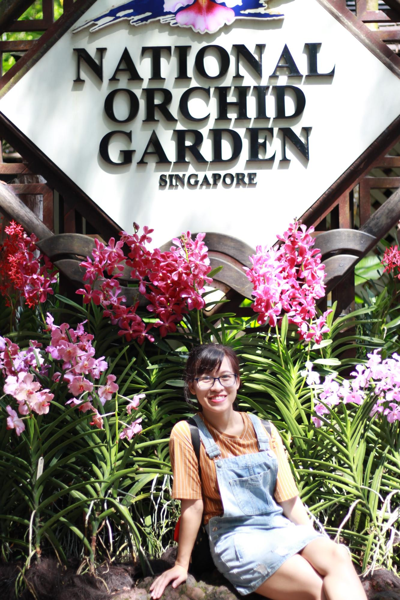 check-in national orchid garden