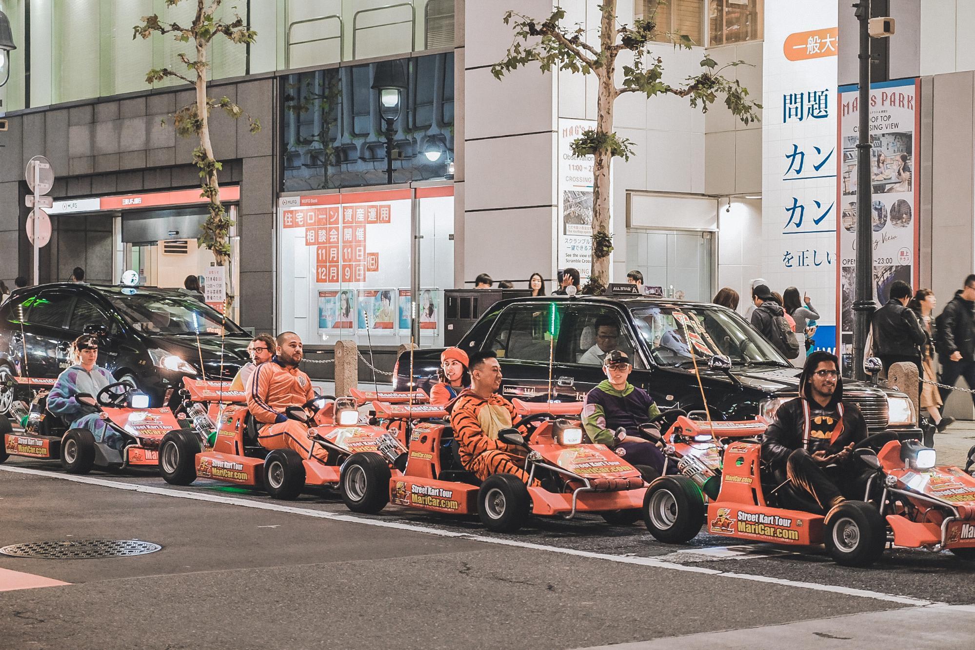 xe go-kart tại tokyo