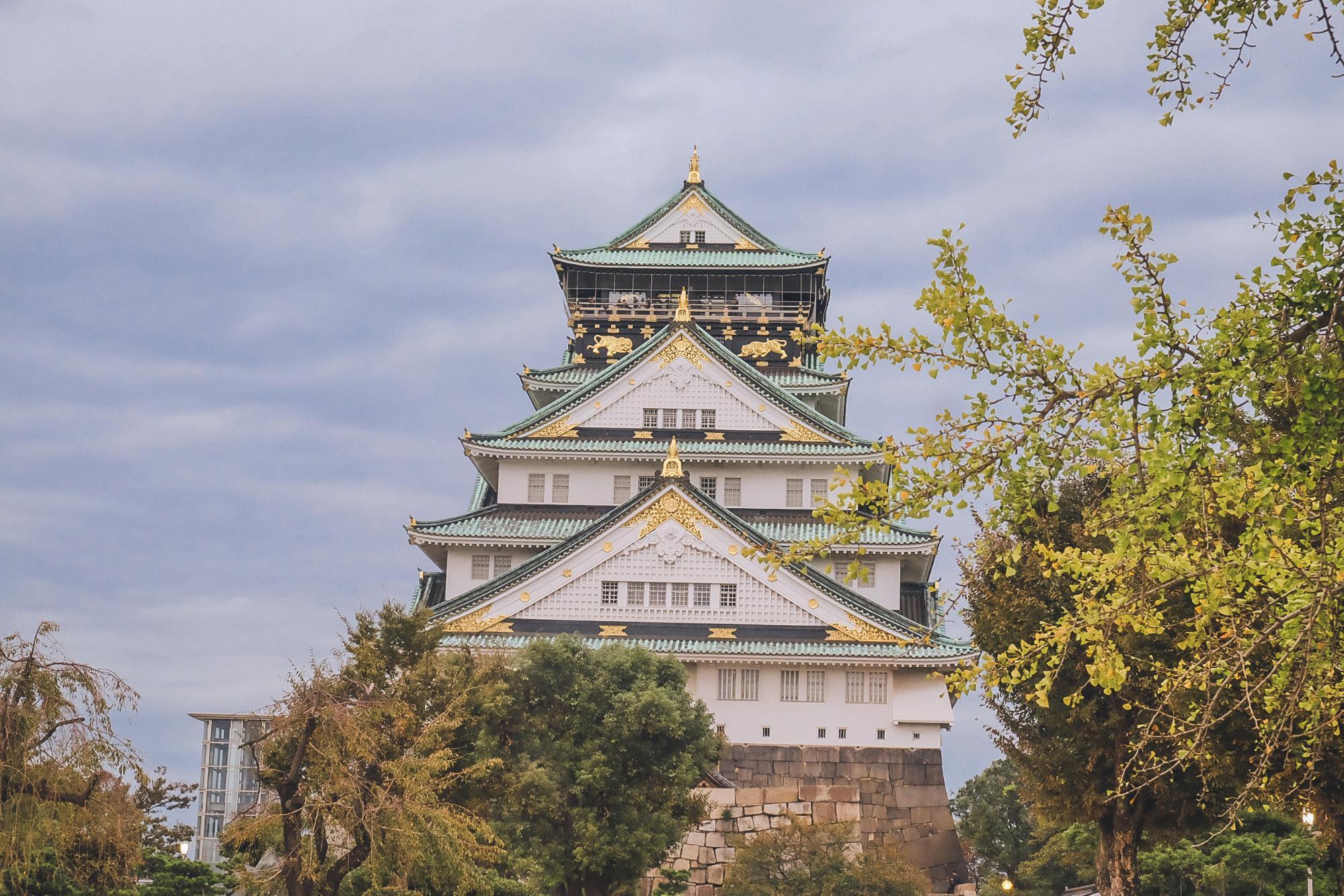 lâu đài osaka
