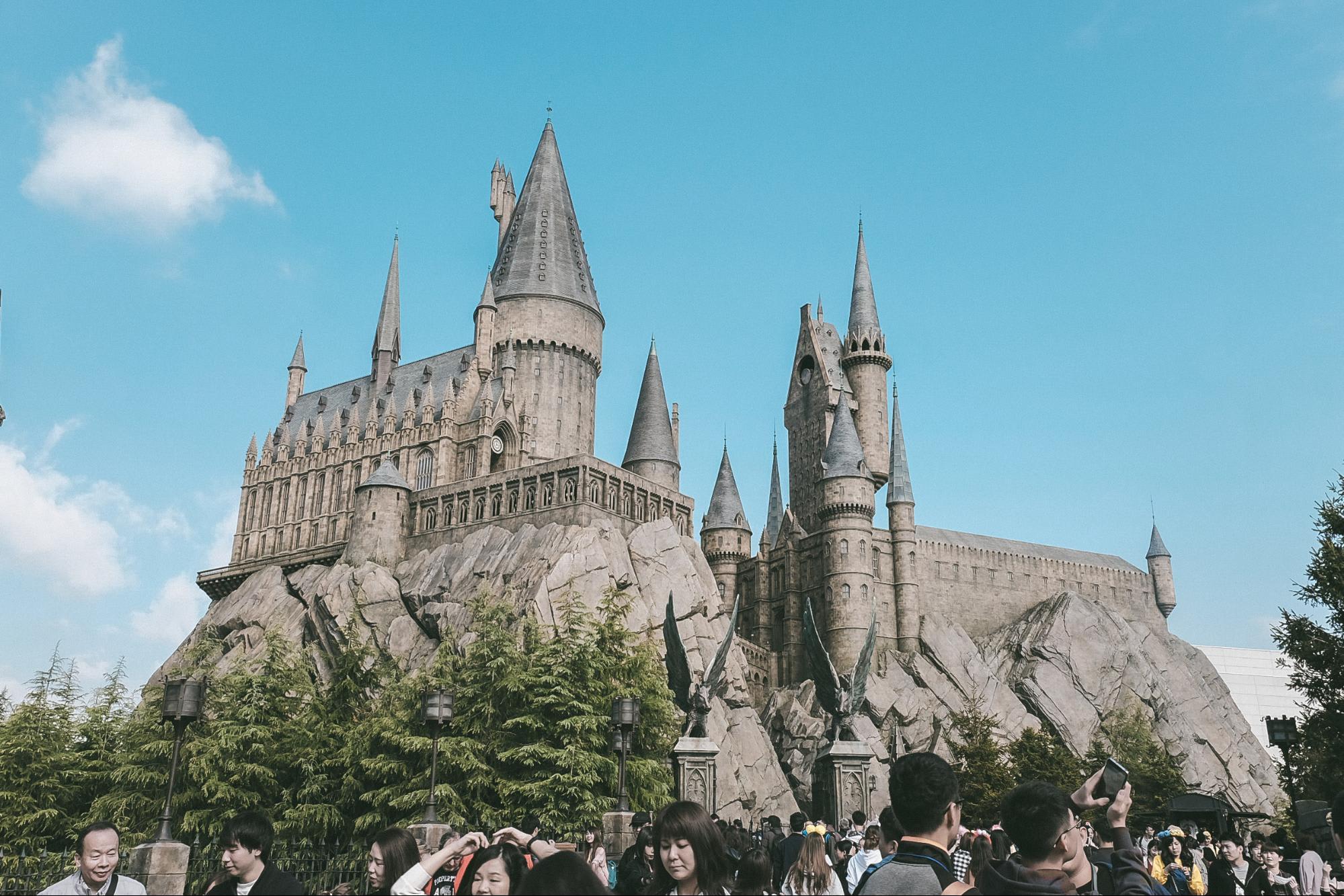 lâu đài harry potter tại universal studios japan