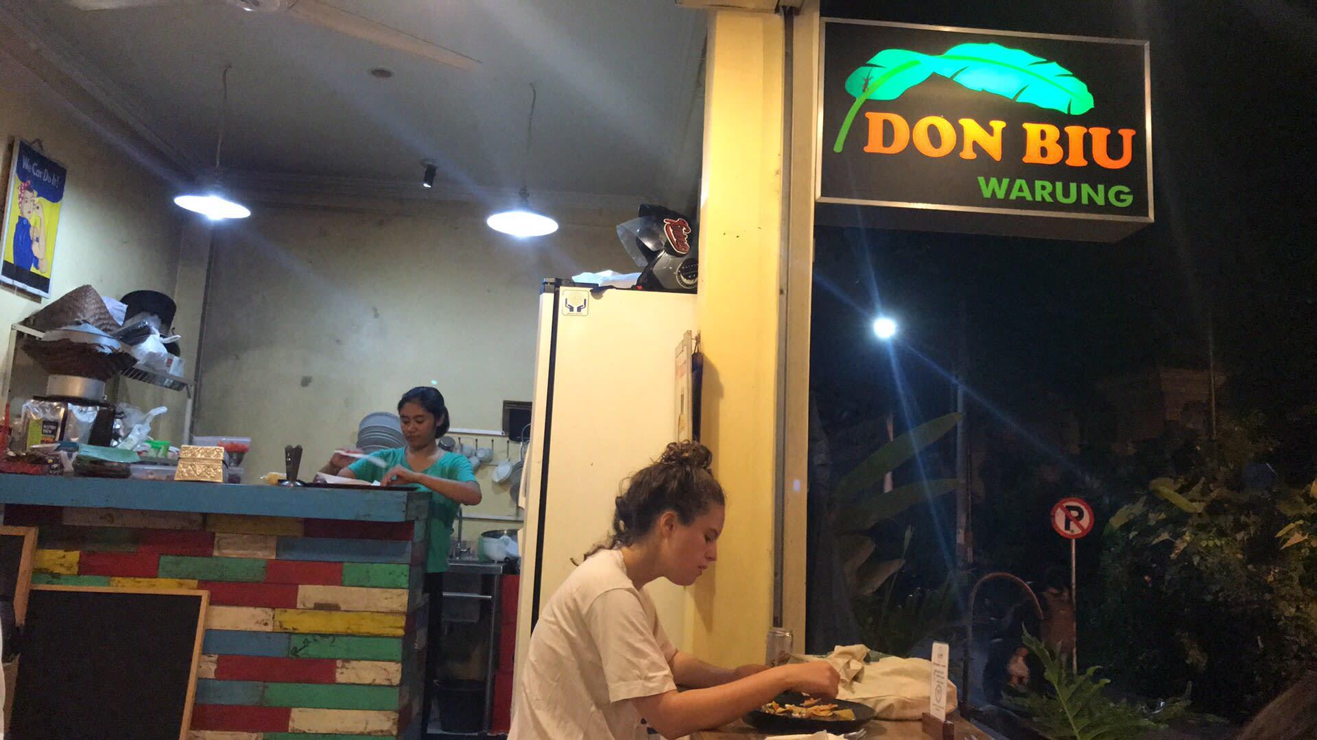 quán ăn donbiu warung