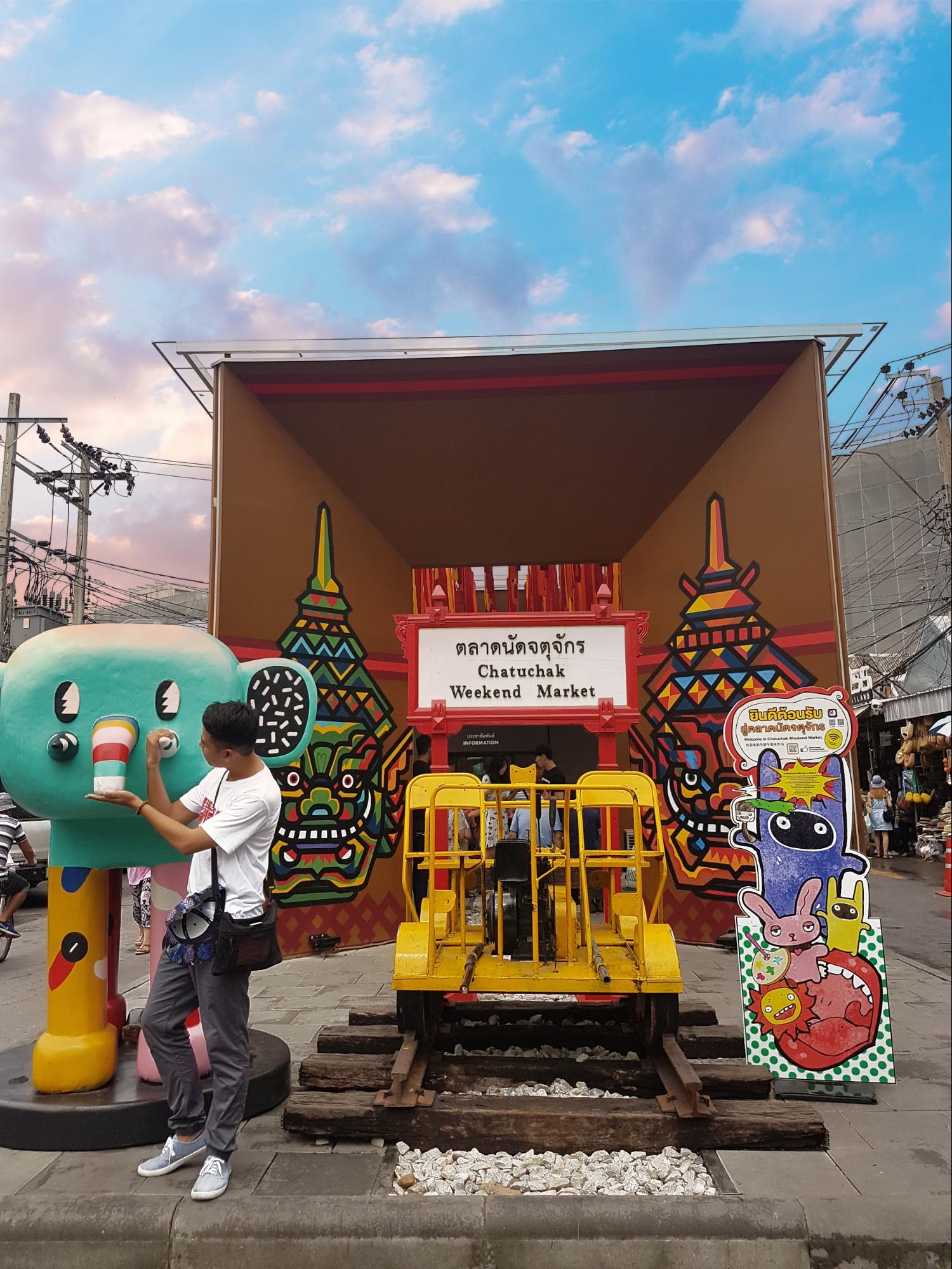 cổng chợ chatuchack