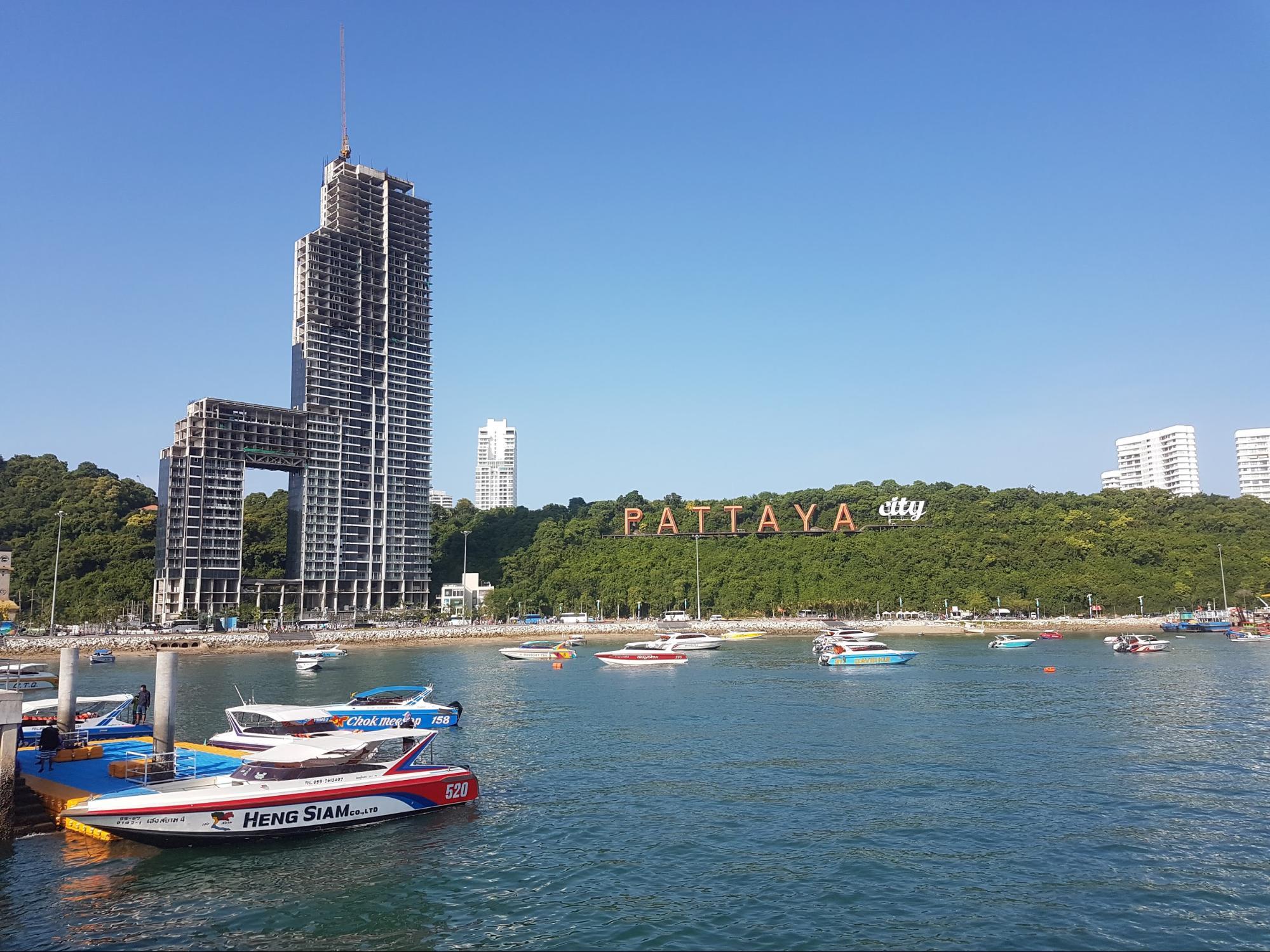 biển và đảo tại pattaya