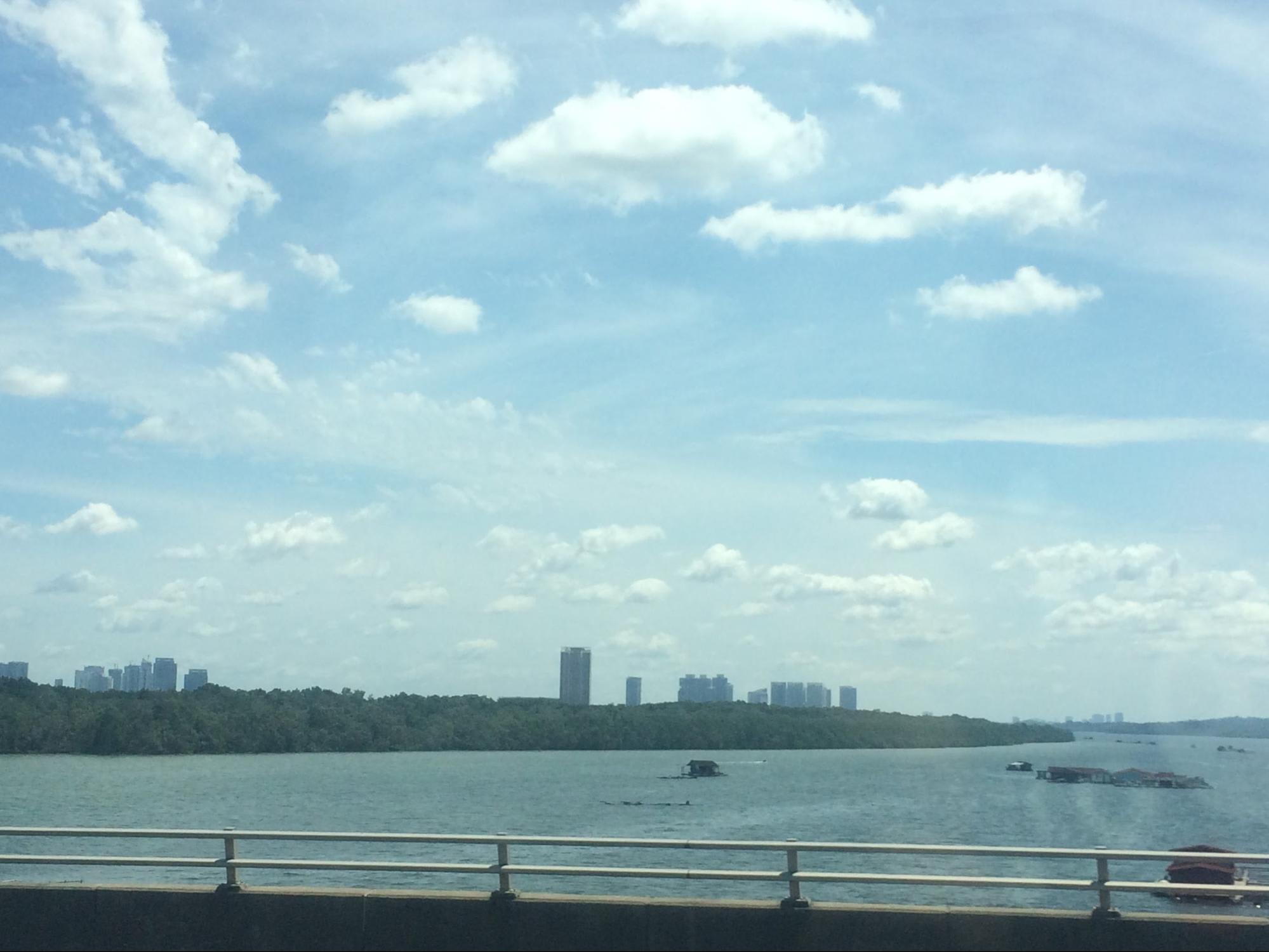 cầu nối giữa singapore và malaysia