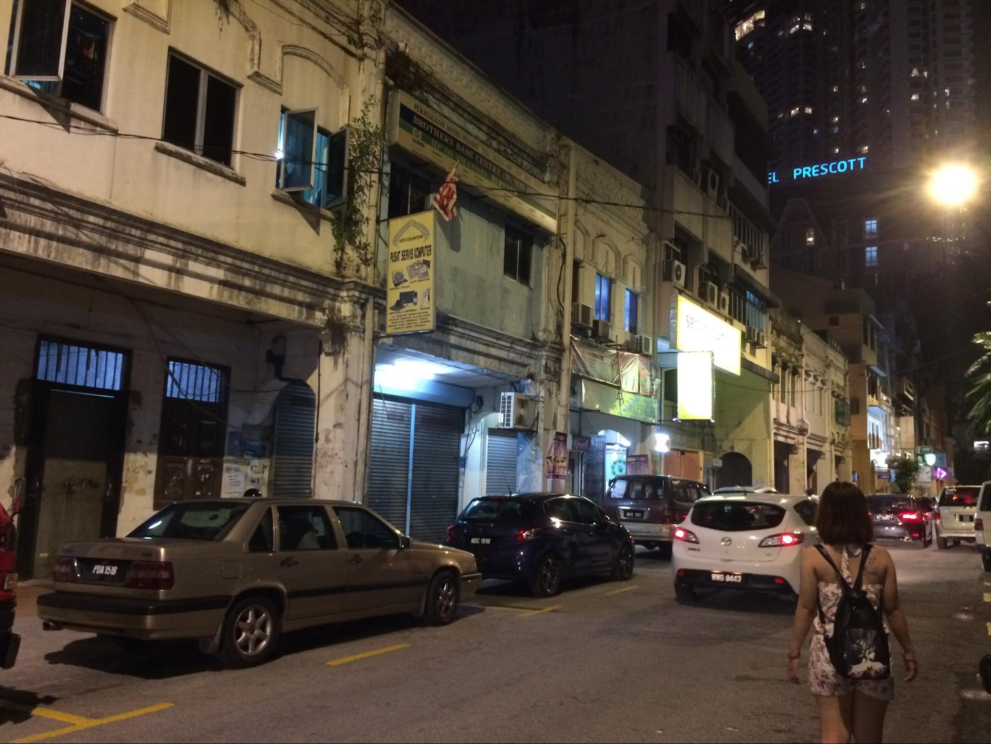 phố malaysia về đêm