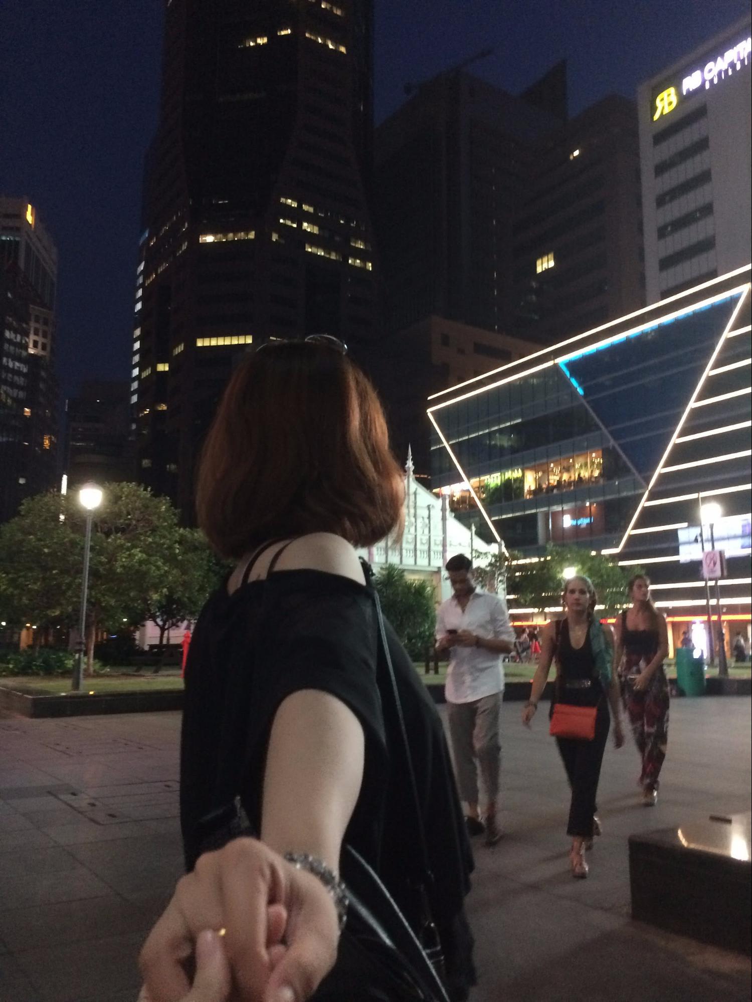 dạo phố singapore về đêm