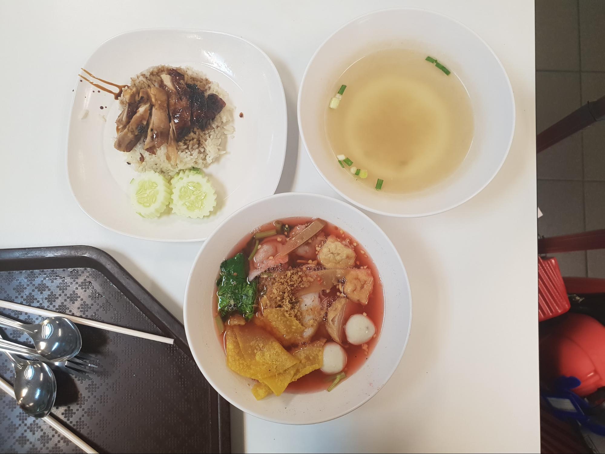 thức ăn ở magic food suvarnabhumi
