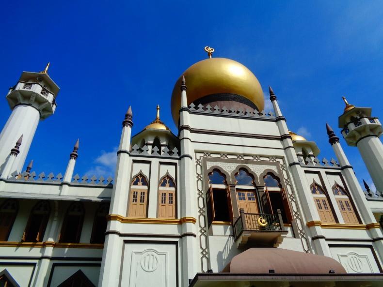 nhà thờ hồi giáo tại arab street