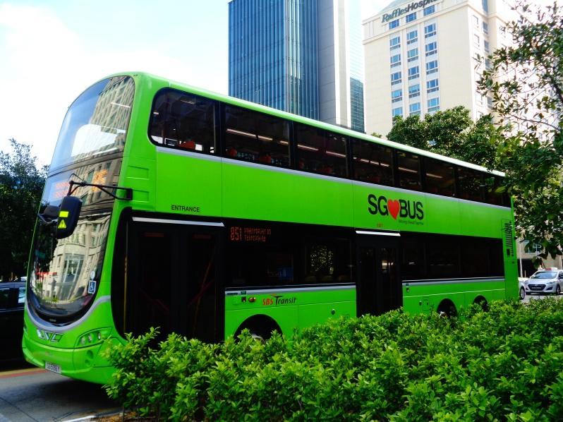 xe buýt ở singapore