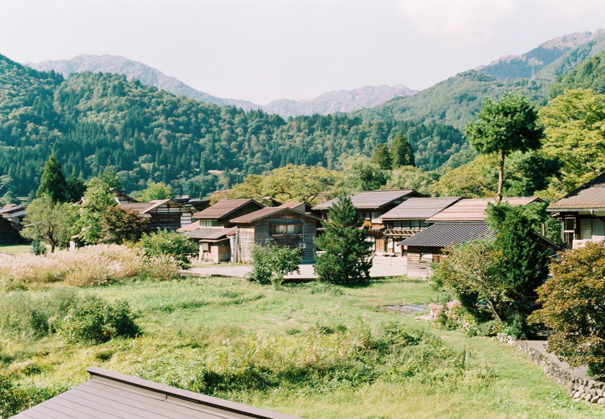 nhà cửa tại shirakawa-go