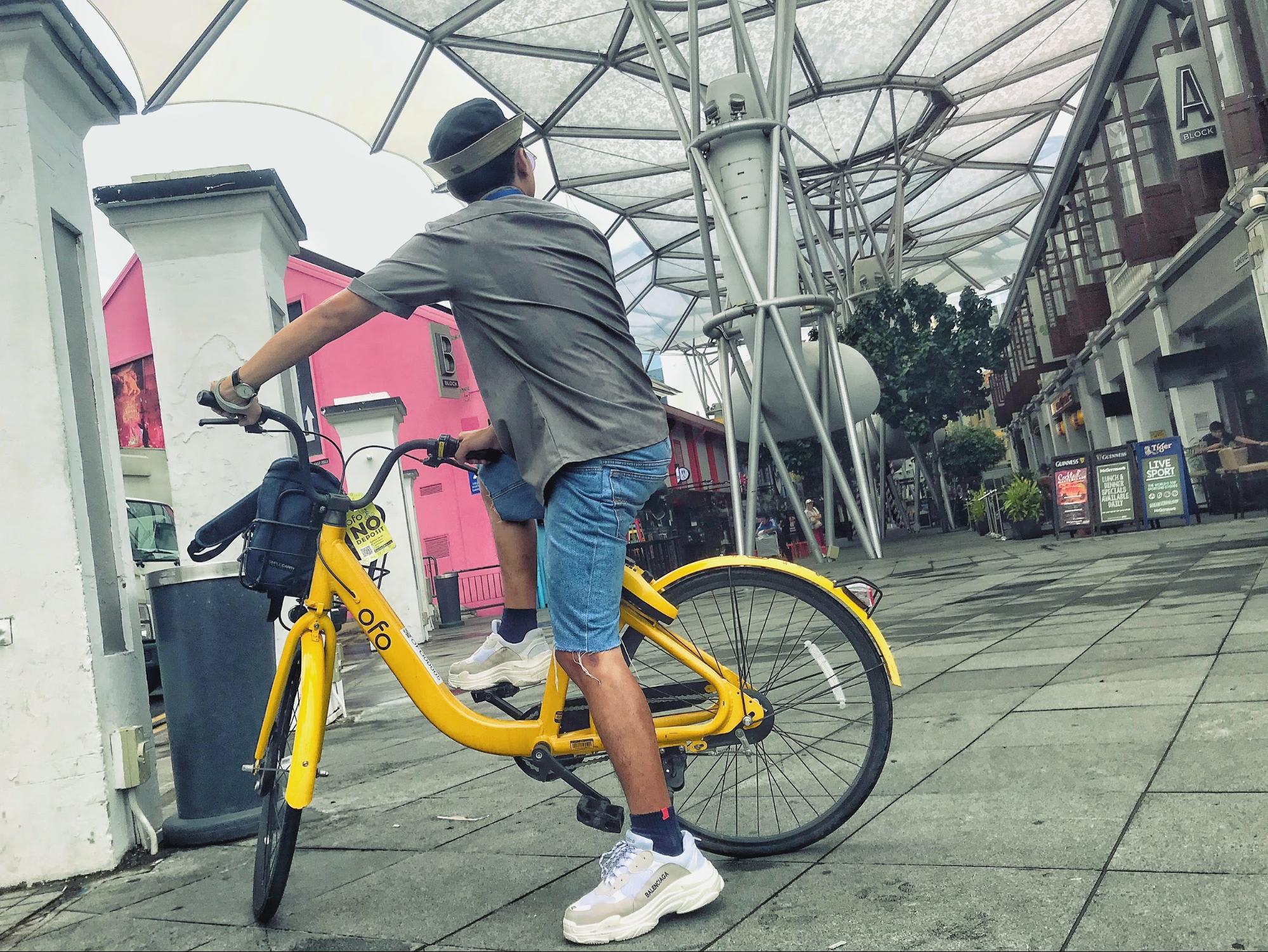 xe đạp ở singapore