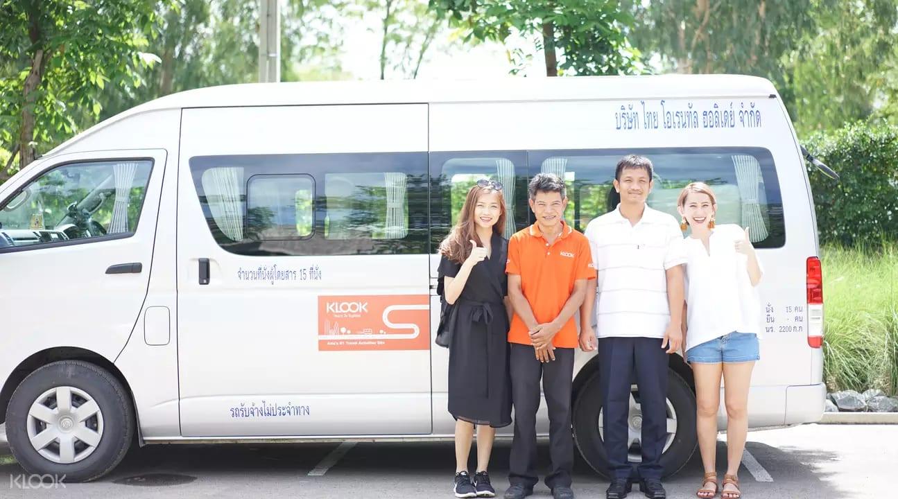 xe đi khao yai từ bangkok