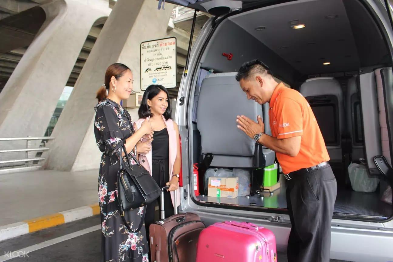 xe đưa đón sân bay suvarnabhumi