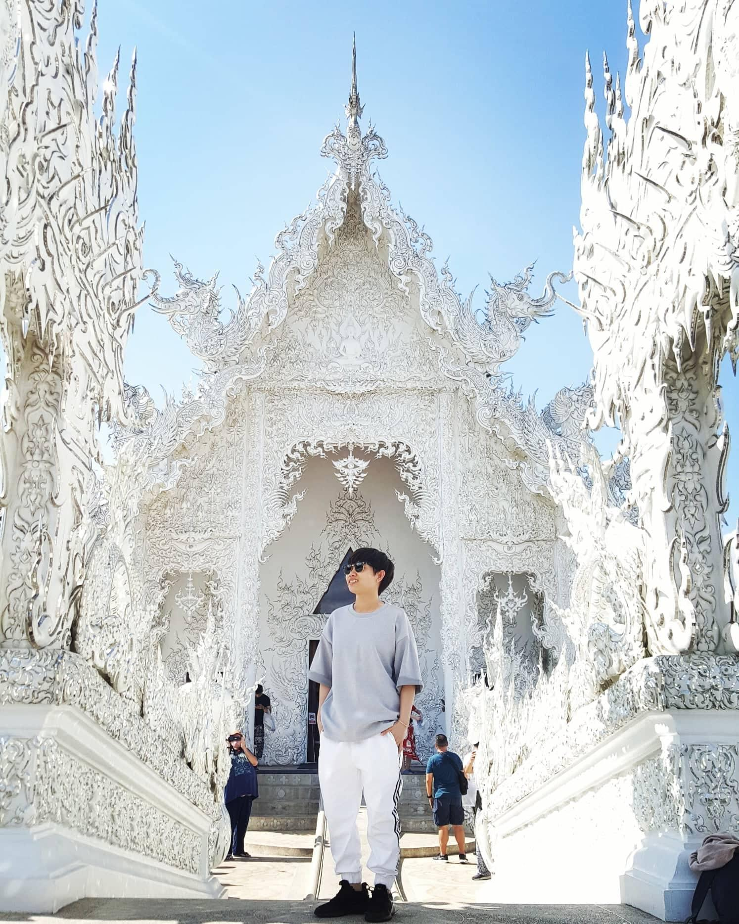 chùa trắng ở chiang mai