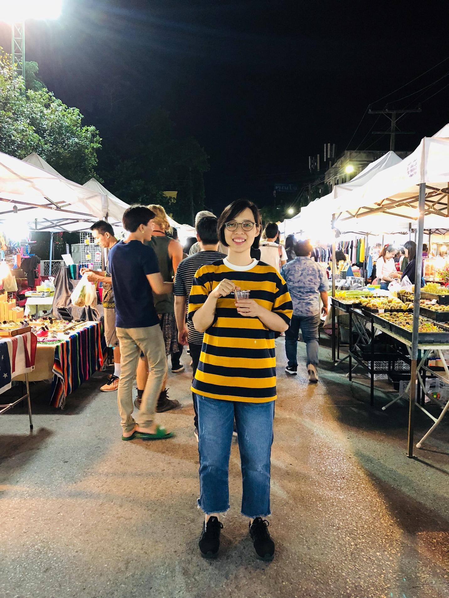 chợ đêm tại chiang rai