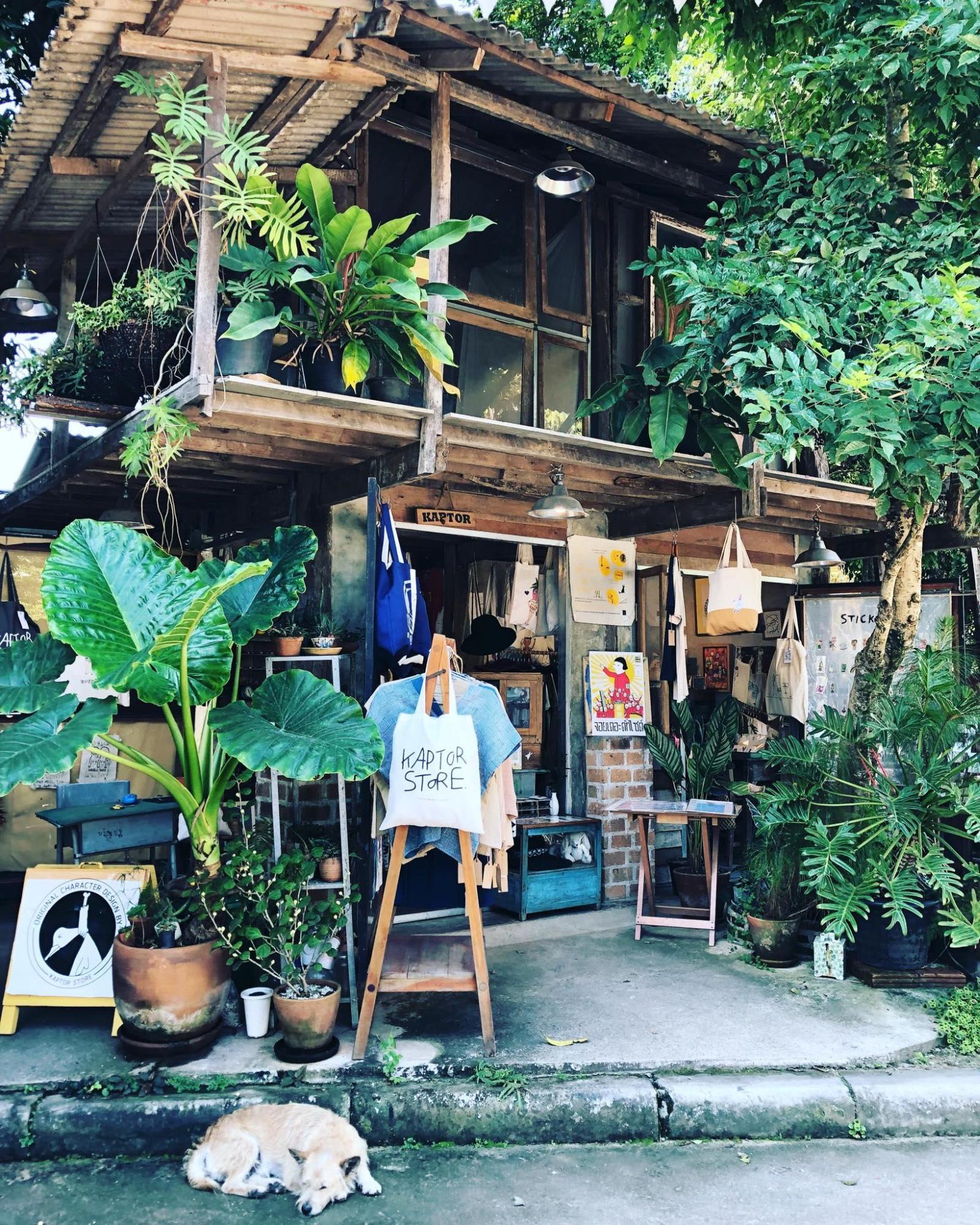 quán cafe ở baan kang wat