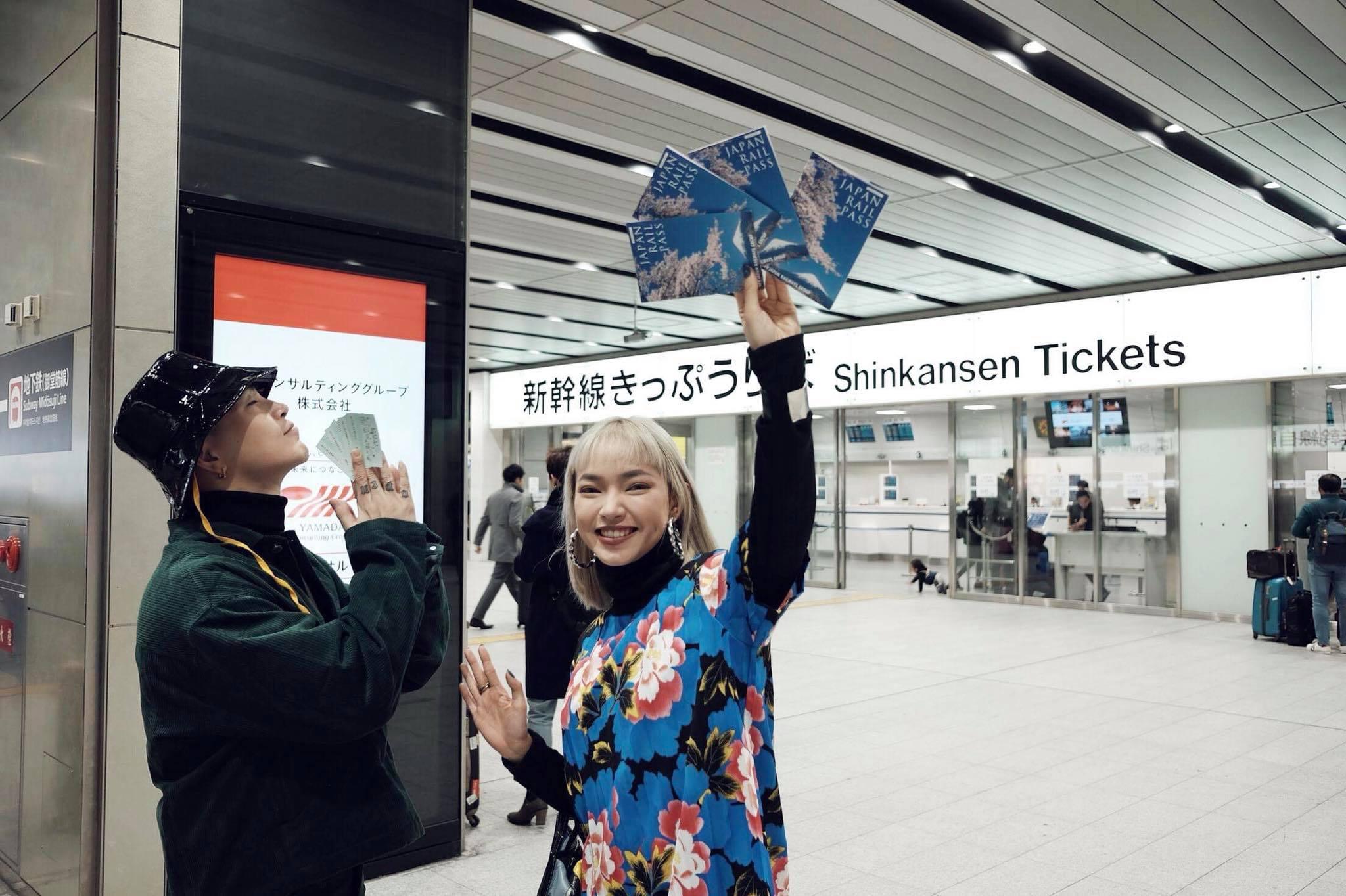 Đi Nhật Bản chơi gì, check-in đâu đẹp lung linh như Châu Bùi? 3