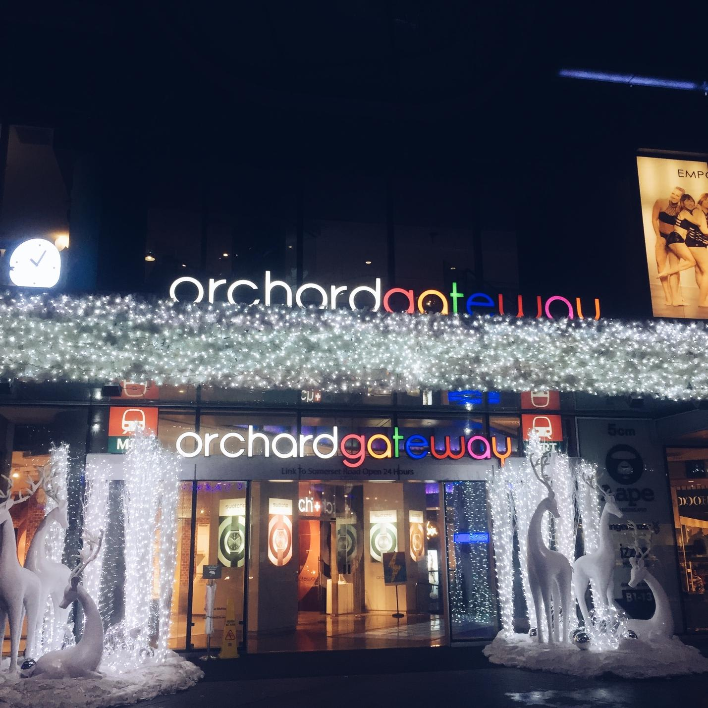 phố mua sắm orchard