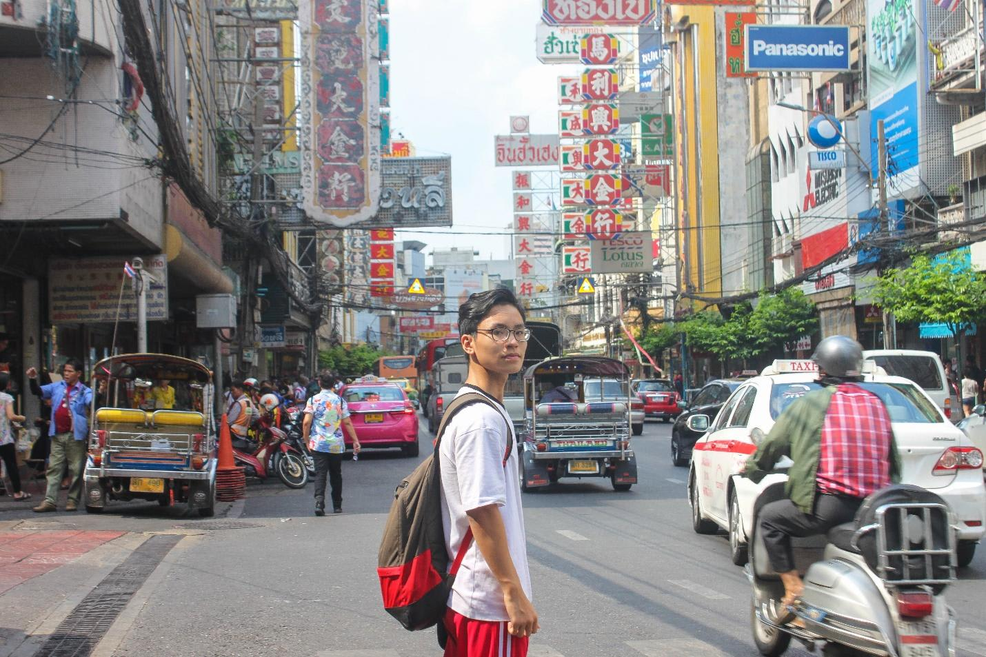 khu chinatown bangkok