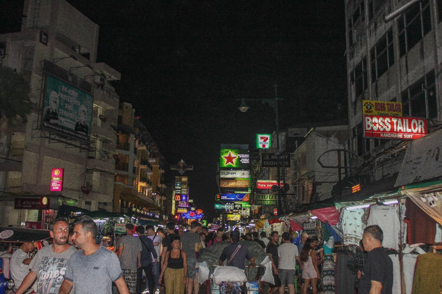 khao san về đêm