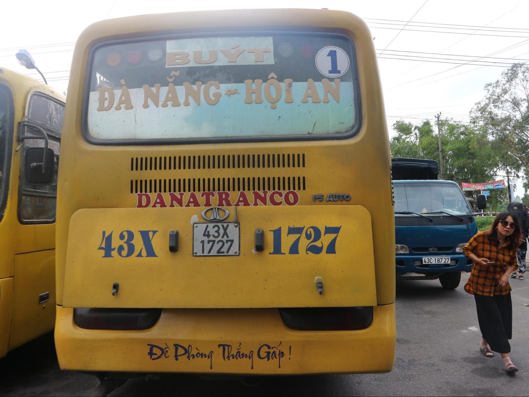xe bus hội an
