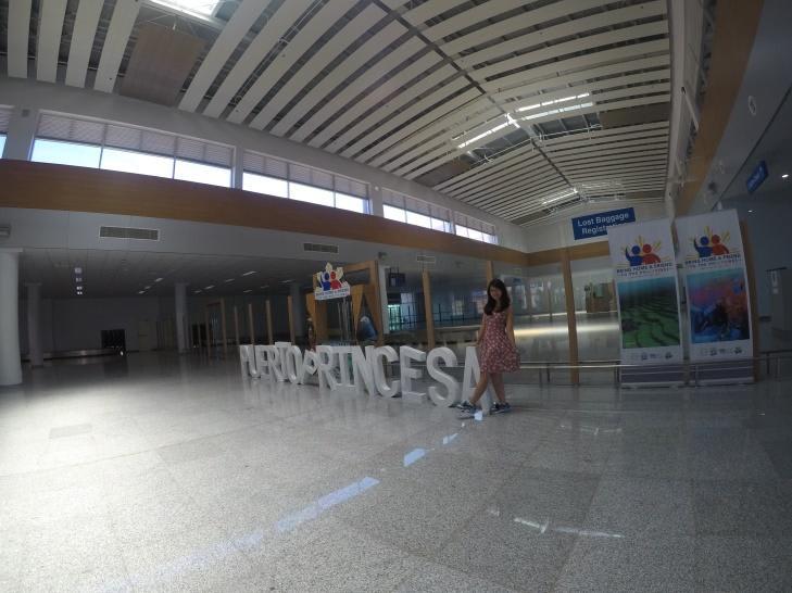 sân bay puerto princesa