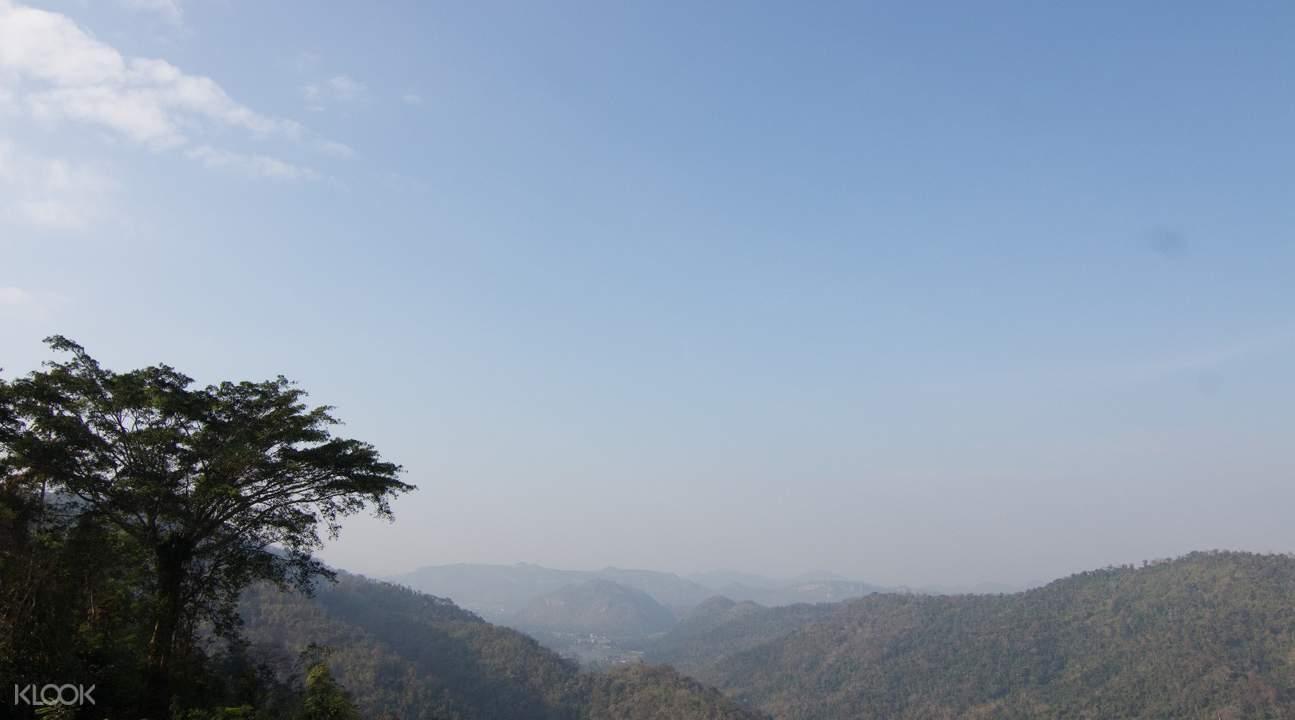 công viên quốc gia khao yai nhìn từ trên cao