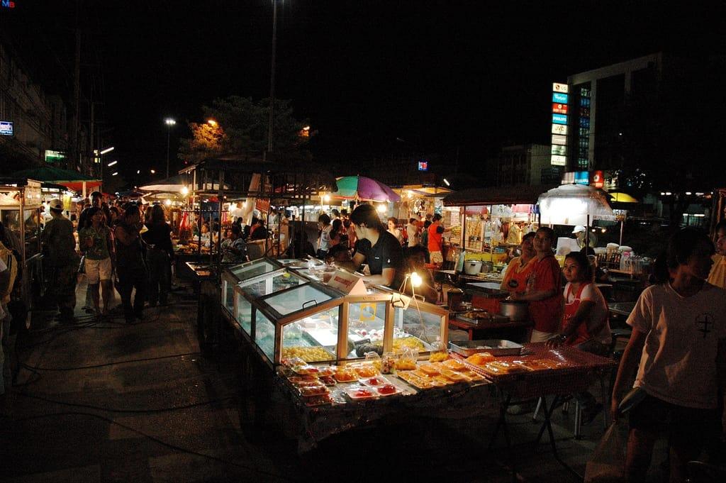 chợ đêm pak chong