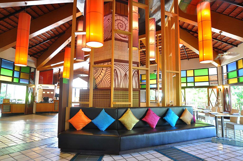 sảnh khách sạn the greenery resort