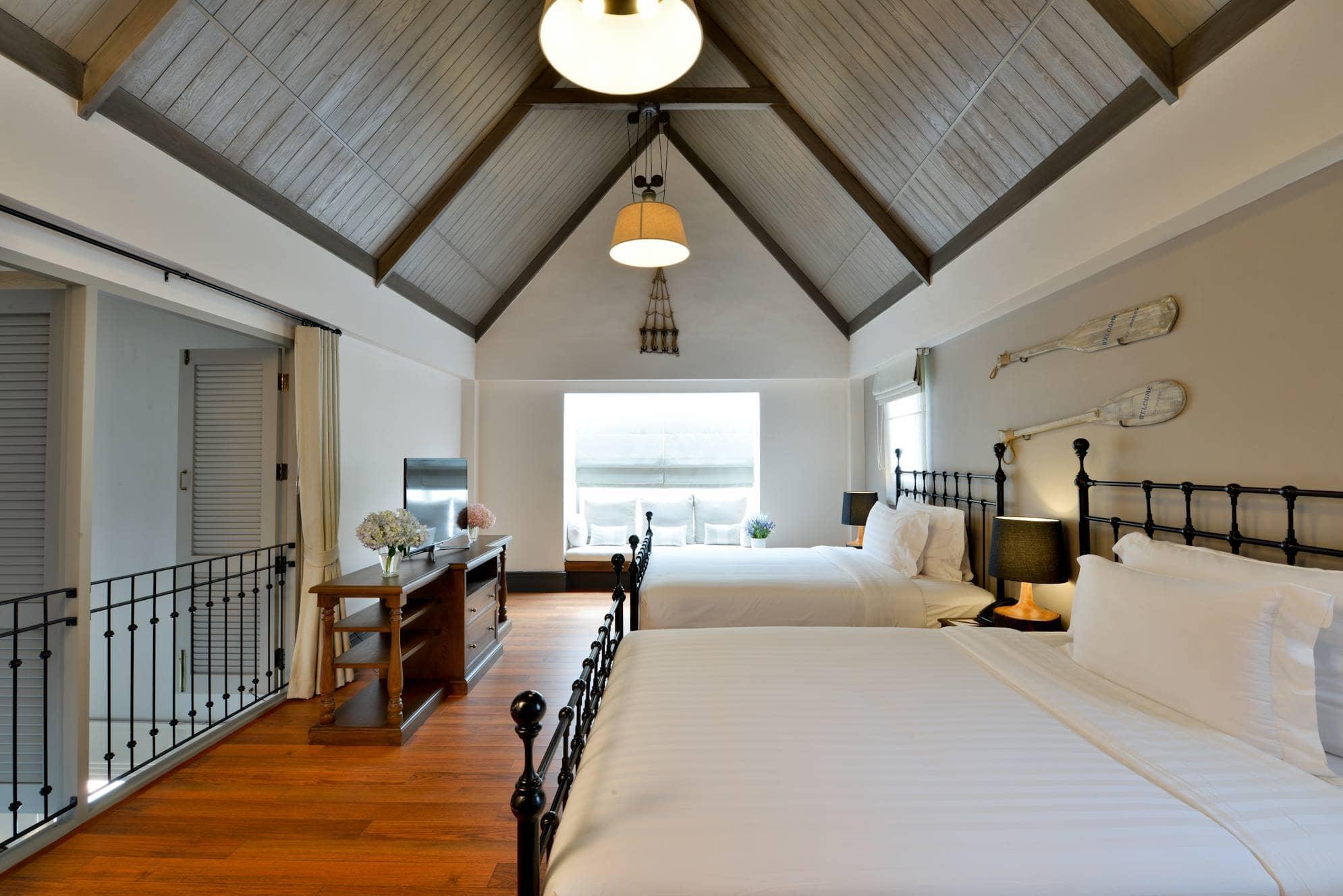 phòng ngủ thames valley hotel khao yai