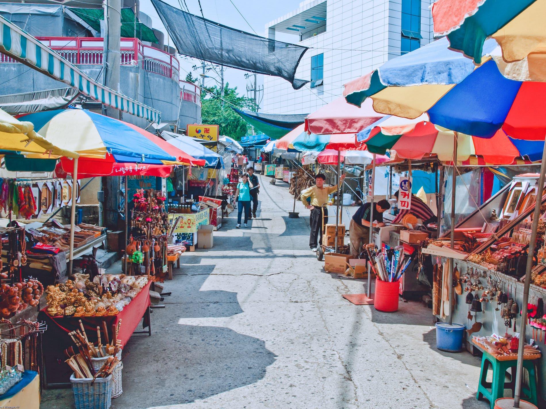 chợ hải sản jagalchi