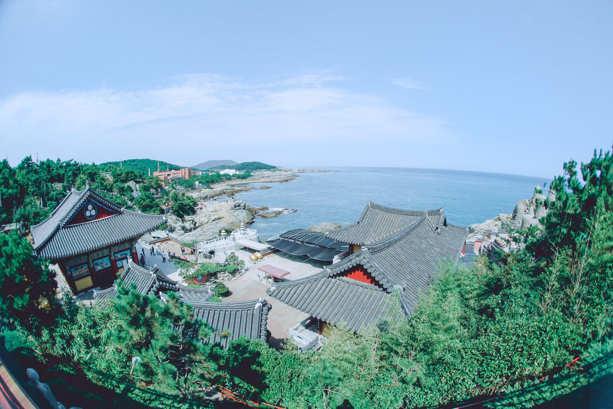 haedon yonggunsa nhìn từ trên cao