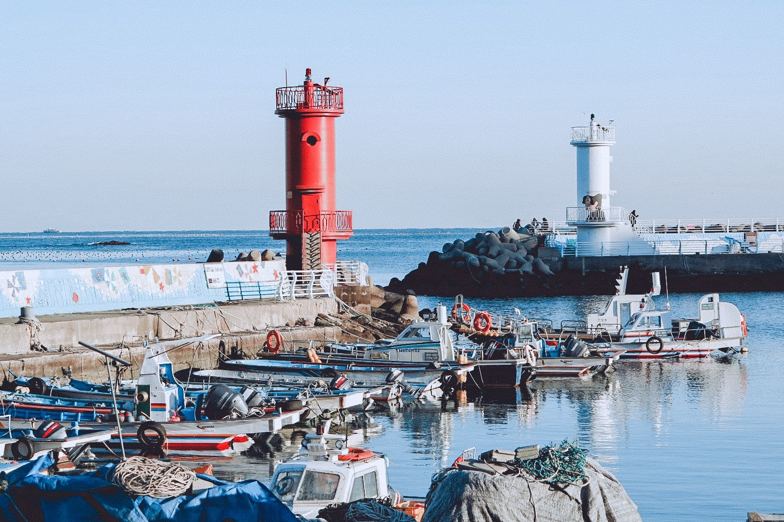 cảng biển haeundae