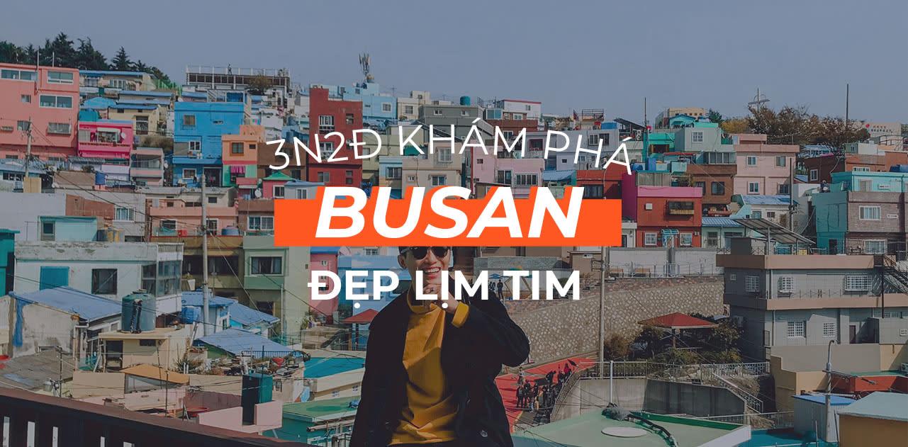 Lịch trình 3N2Đ khám phá Busan đẹp rụng tim 1
