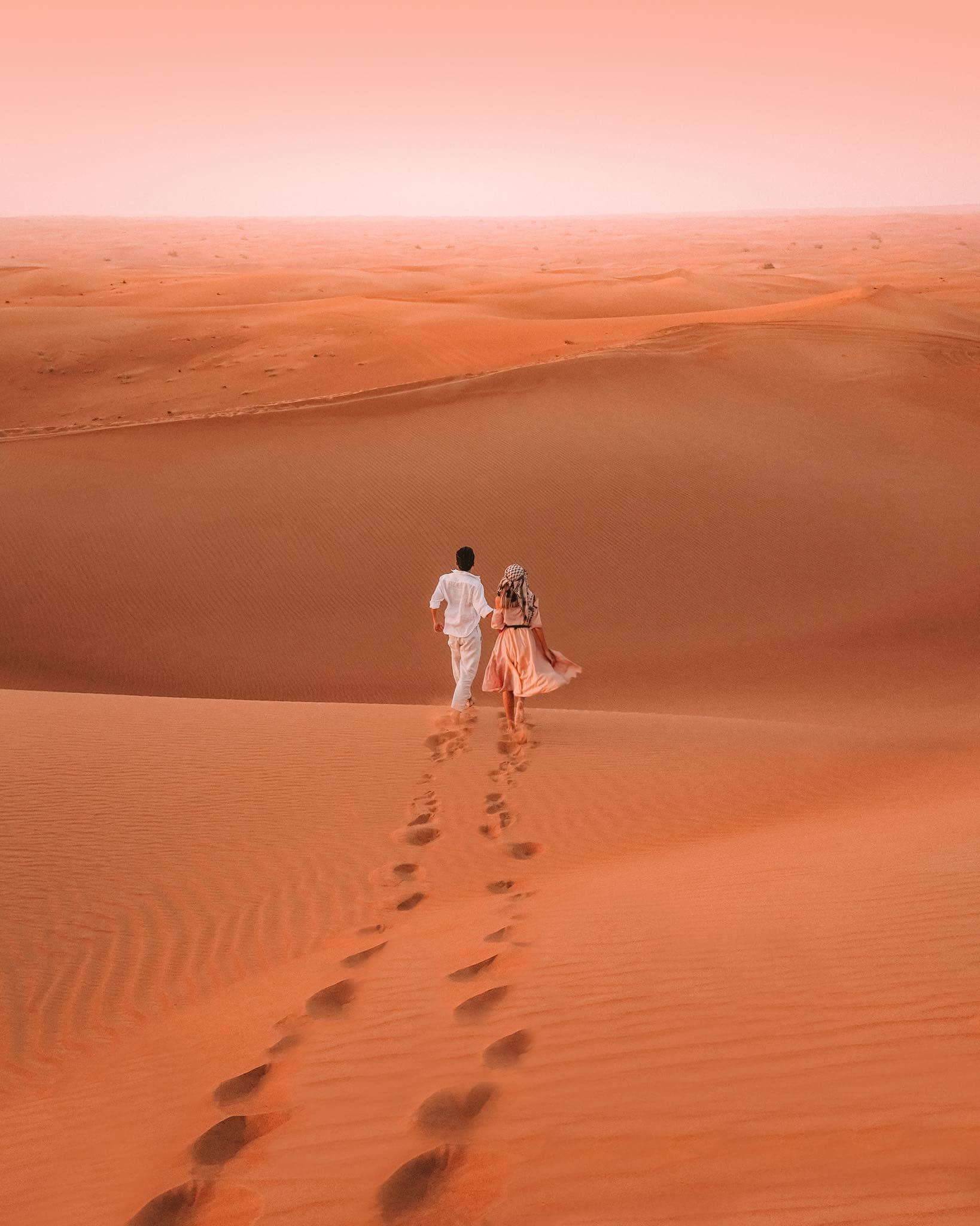 trải nghiệm sa mạc dubai