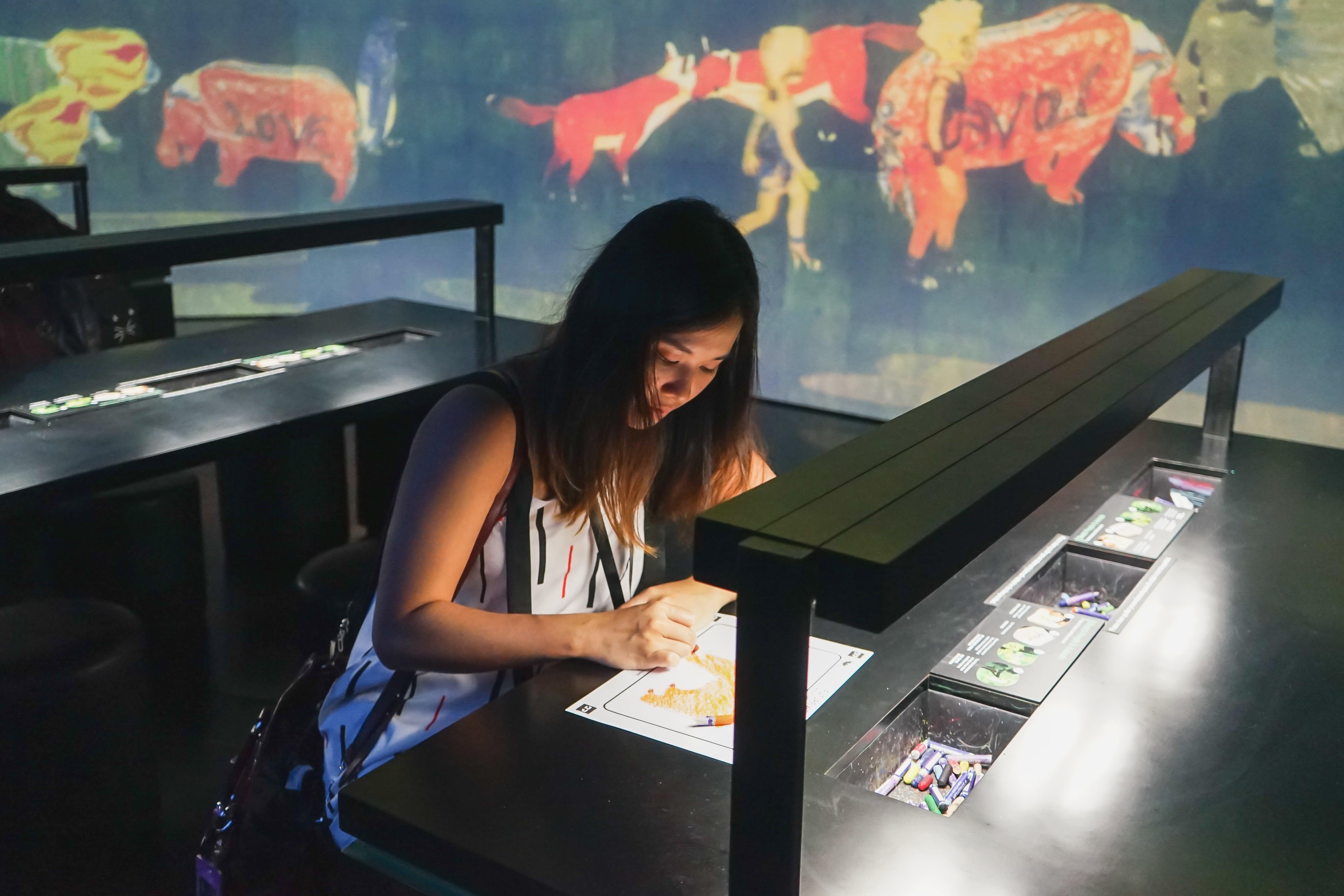 Phát hiện điểm checkin mới siêu ảo tại Singapore: Art Science Museum 13