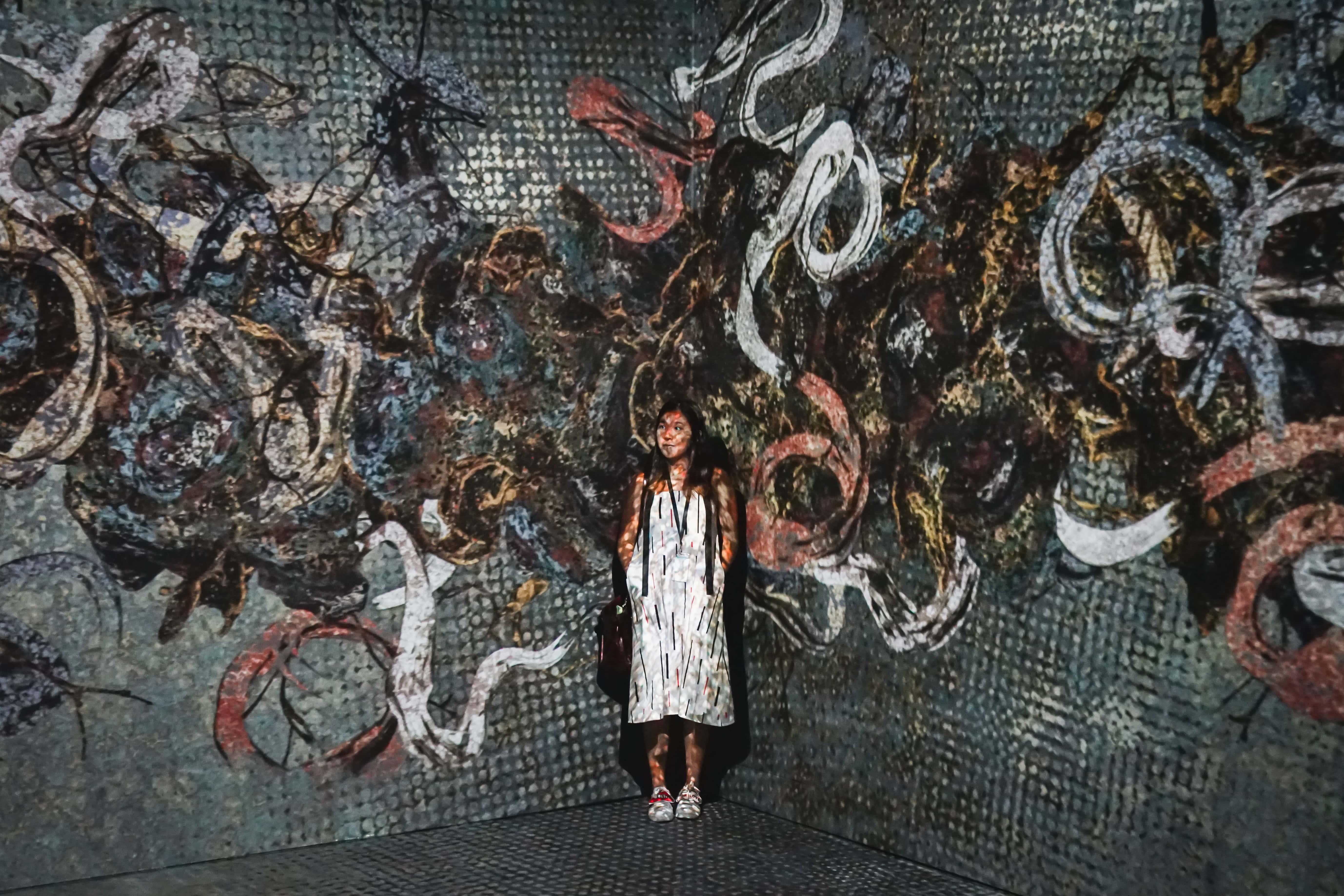 Phát hiện điểm checkin mới siêu ảo tại Singapore: Art Science Museum 10