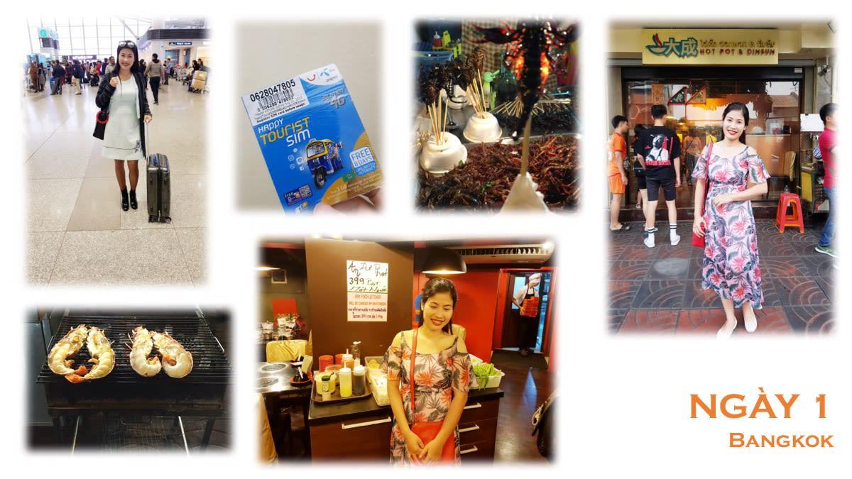 Lịch trình lần đầu du lịch tự túc: Mình chọn Thái Lan! 2