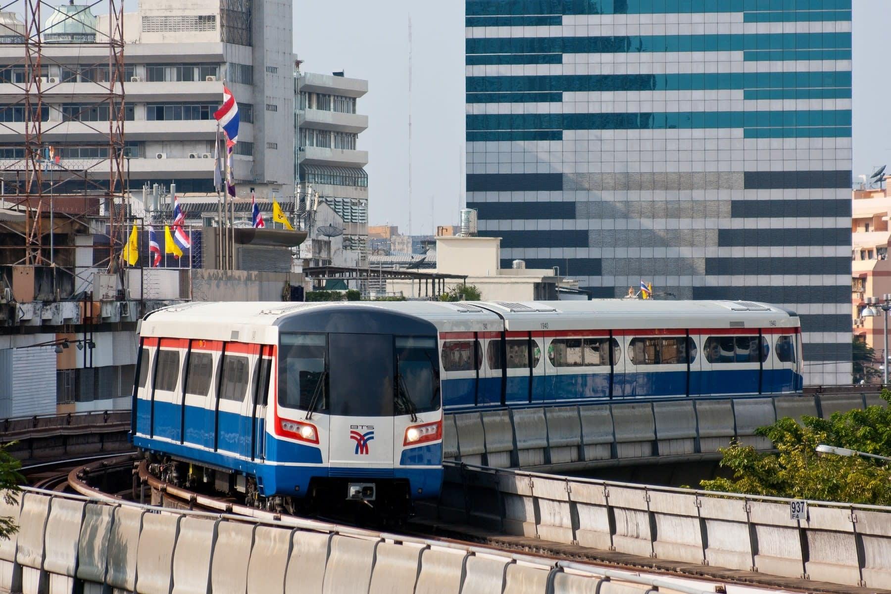 Du lịch Thái Lan với chính sách mới cho thẻ Rabbit và Bangkok Train Sky 2